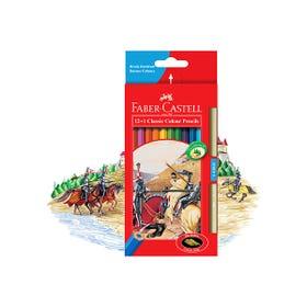 Faber-Castell Classic Colour Pencil Set 12