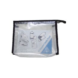 Gusseted Pouch Black A5