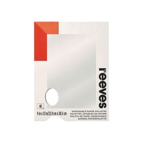 """Reeves Disposable Paper Palette Pad 9"""" x 12"""""""