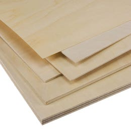Basswood Ply Sheets 150mm x 915mm
