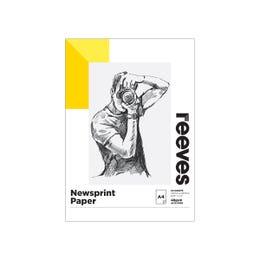 Reeves Bulky Newsprint Pad A4