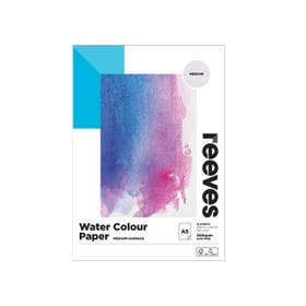Reeves Watercolour Pad A5 300gsm Medium (Cold Pressed)