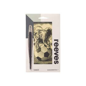 Reeves Mini Gold Scraperfoil (Elephant)