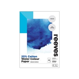 Reeves Watercolour Cotton Mix Pad A5