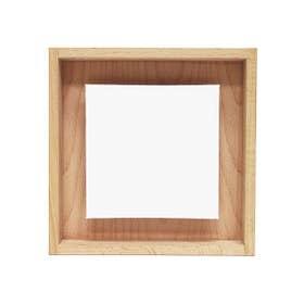 Jasart Framed Floating Canvas Panel 20cm x 20cm (Canvas Panel 13cm x 13cm)