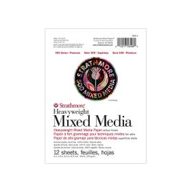 """Strathmore Series 500 Softcover Mixed Media Pad 570gsm 12 Pages 6"""" x 8"""""""