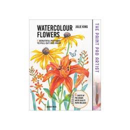 Paint Pad Artist: Watercolour Flowers