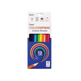 Jasart Colour Sphere Colour Pencil Sets Hexagonal Barrel