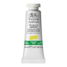 Winsor & Newton Designer's Gouache Paints 14ml Cadmium Free Lemon Tube
