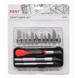Kent Craft Knife 16 Piece Set