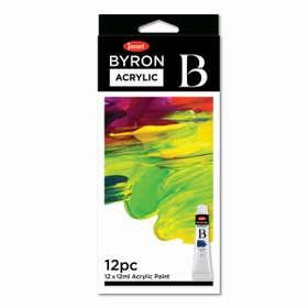 Jasart Byron Acrylic Paint 12ml Set 12