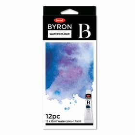 Jasart Byron Watercolour Paint 12ml Set 12