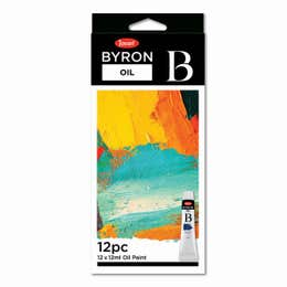 Jasart Byron Oil Paint 12ml Set 12