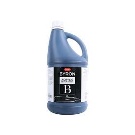 Jasart Byron Acrylic Paints 2 Litre Black