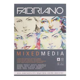 Fabriano Mixed Media Pads A4
