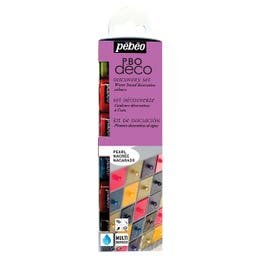 Pebeo Deco Discovery Pearl Paint Set