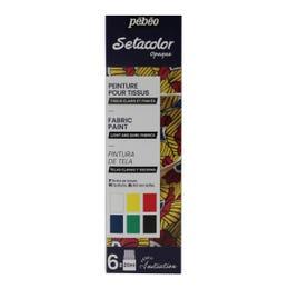 Pebeo Setacolor Opaque Matt Fabric Painting Set