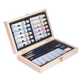 Jasart Acrylic Wooden Box Set
