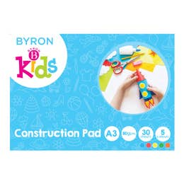 Jasart Byron Kids Construction Paper Pad