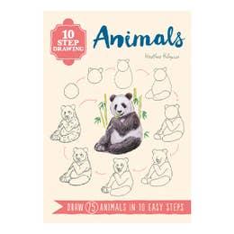 10 Step Drawing Animals
