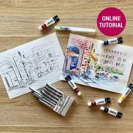 Global Village Sketch & Paint Online Tutorial