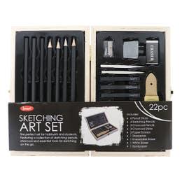 Jasart Sketching Wooden Box Set 22