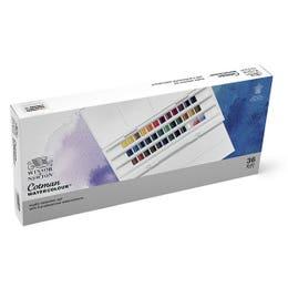Winsor & Newton Cotman Watercolour Half Pan Studio Set 36