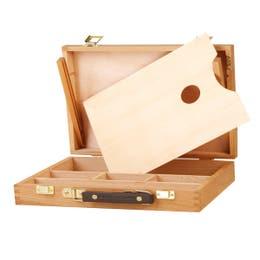 Jasart Artist Wooden Paint Box - 1-Tier