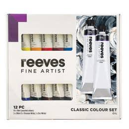 Reeves Fine Artist Oil Paint Set