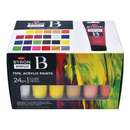Jasart Byron Acrylic Paint Set 24