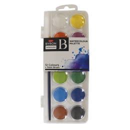 Jasart Byron Watercolour Palette Disc Sets