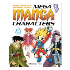 Mega Manga Characters Book