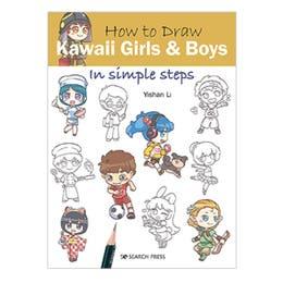 How to Draw Kawaii Girls & Boys Book