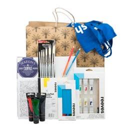 Christmas Art Gift Bag