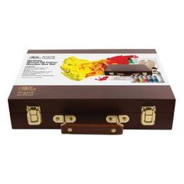 Winsor & Newton Winton Oil Heritage Wooden Box