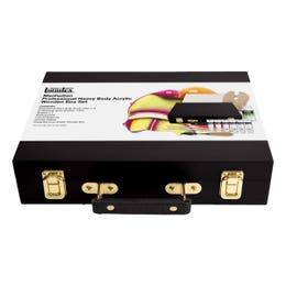 Liquitex Manhattan Professional Acrylic Wooden Box Set