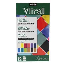 Pebeo Vitrail Glass Paint Exploration Set
