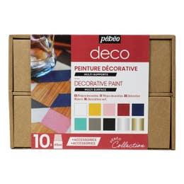 Pebeo Decorative Paint Collection Case
