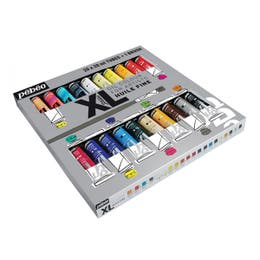 Pebeo Studio Fine Huile XL Oil Paints Plus Bonus Brush