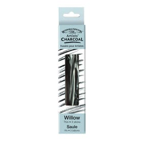 Winsor & Newton Willow Charcoal Thin   Pack 3