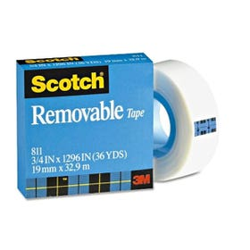 3M Scotch 811 Removable Tape 12.7m x 33m
