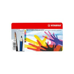 STABILO Aquacolor Pencil Set 12