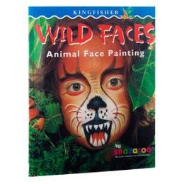Snazaroo Wild Faces Book