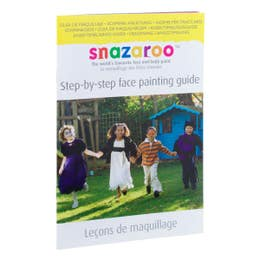 Snazaroo Step By Step Guide Book