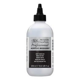 Winsor & Newton Professional Acrylic Matt Medium 250ml