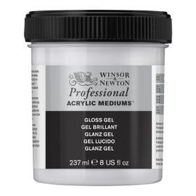 Winsor & Newton Professional Acrylic Gloss Gel Medium 237ml