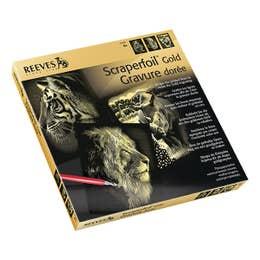 Reeves Gold Scraperfoil Safari Gift Set