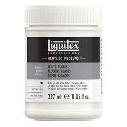 Liquitex White Flakes Medium 237ml