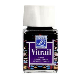 Lefranc & Bourgeois Vitrail Paints 50ml Violet