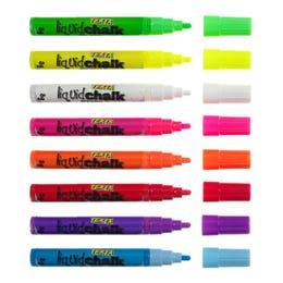 Texta Liquid Chalk Dry Wipe Markers 4.5mm